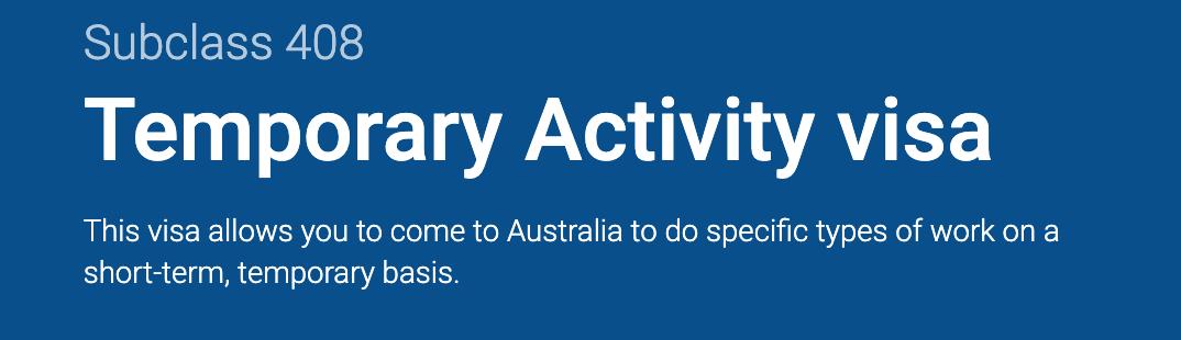 """重磅!澳洲政府推出""""疫情签证"""",签证到期不用愁!免费申请,还可全职工作!有效期一年,简直太棒了!-异乡好居"""