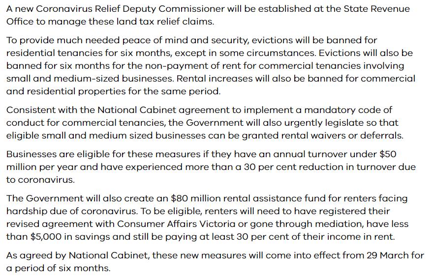 澳大利亚维州5亿租房补贴:房东最高25%土地税减免,租客存款5000以下可申请补贴-异乡好居
