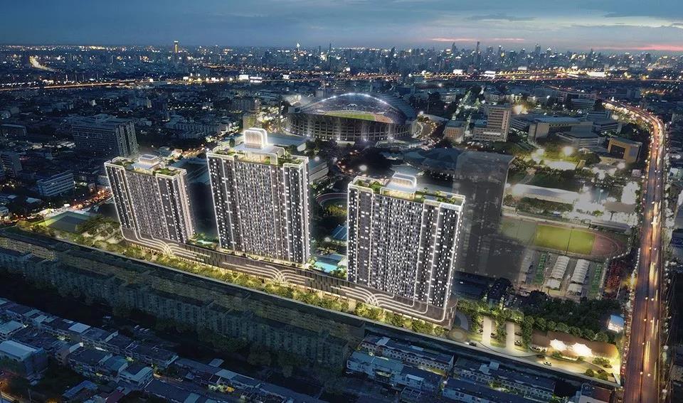 曼谷Supalai蓝康恒公寓,三轨交汇学区房 -异乡好居
